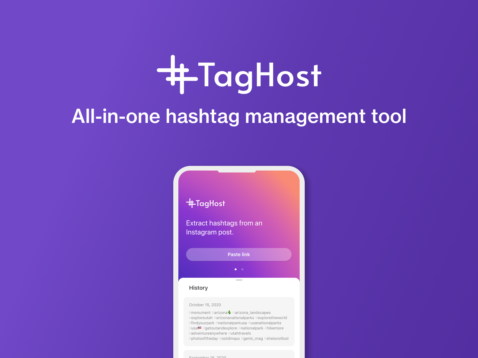 TagHost — Go Viral with the Best Hashtags